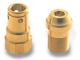真鍮:複合旋盤加工品