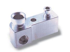 アルミ加工:複合旋盤加工品