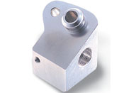 アルミ加工:複合旋盤加工品サンプル2